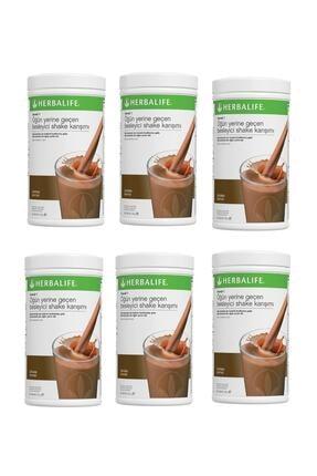 Herbalife Shake Jumbo 6'lı Paket - Çikolata Aromalı 3300gr