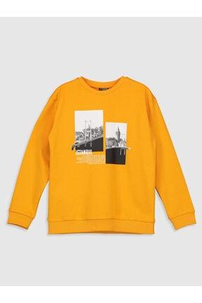 LC Waikiki Erkek Çocuk Orta Sarı Fw9 Sweatshirt