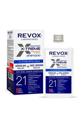 Revox X-treme Dökülen Ve Geç Uzayan Saçlar Için Özel Bakım Şampuanı