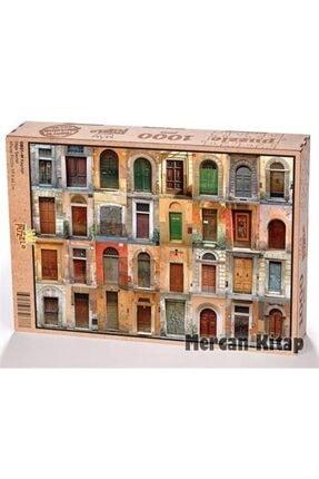 King Of Puzzle Kapılar Ahşap Puzzle 1000 Parça (ob01-m)