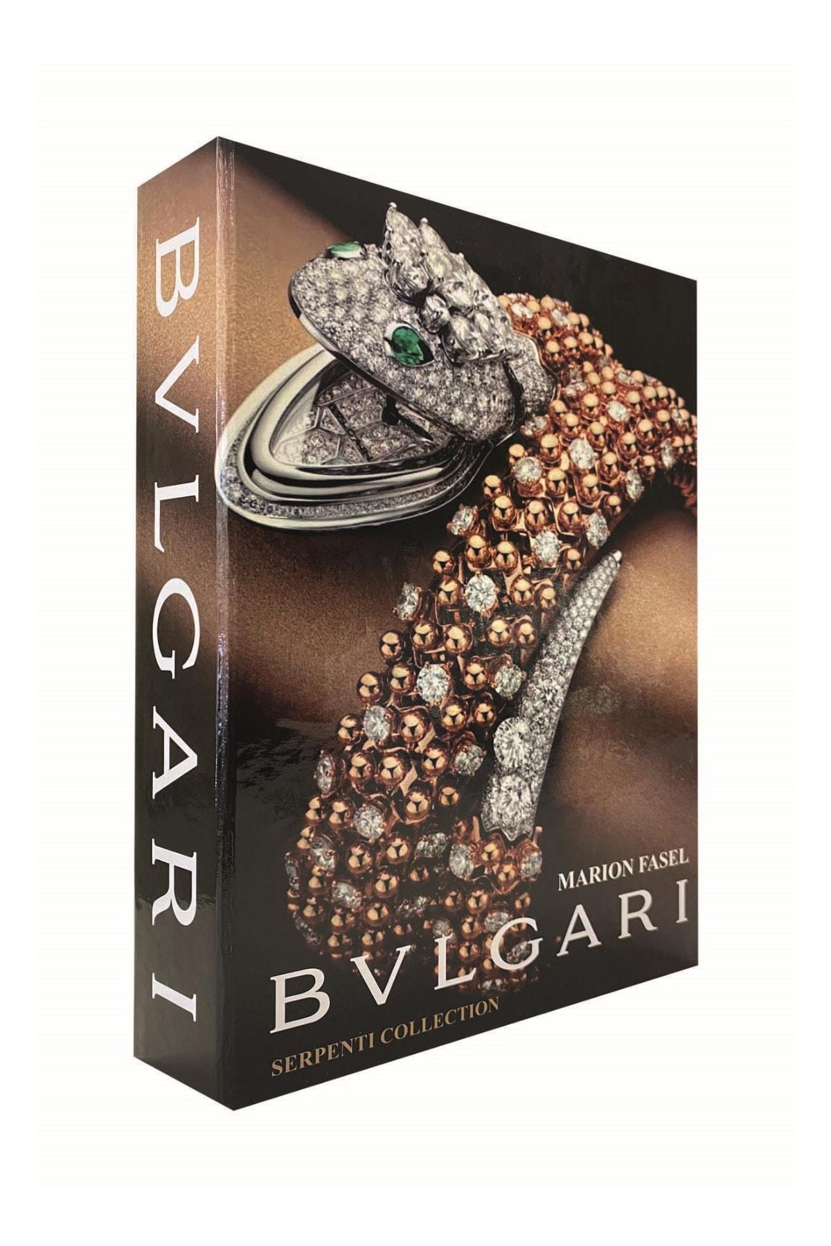 Bvlgari Bvlgarı Dekoratif Kitap Kutu 27x19x4cm 1