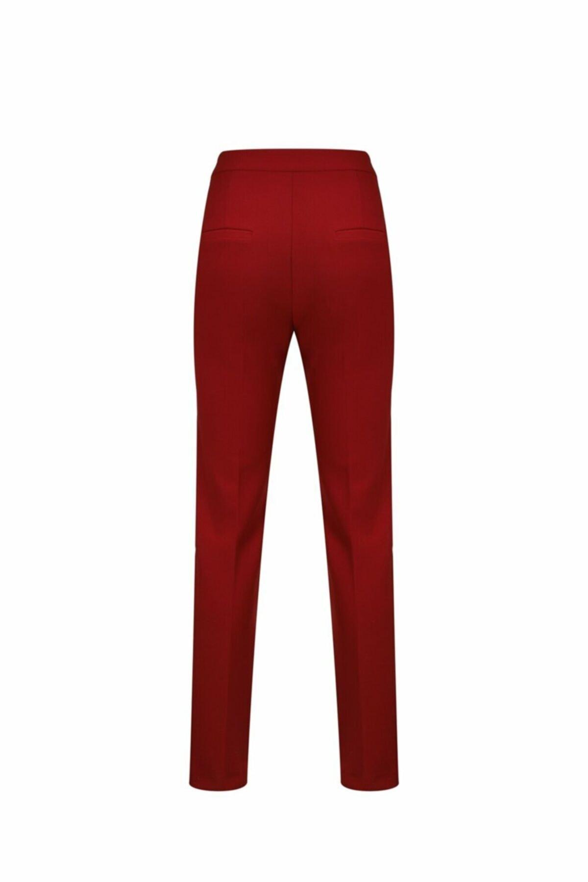 adL Kadın Kırmızı Kalem Pantolon 153C1538000006 2