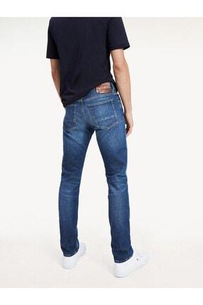 Tommy Hilfiger Erkek Slim Bleecker Str East Blue Jeans