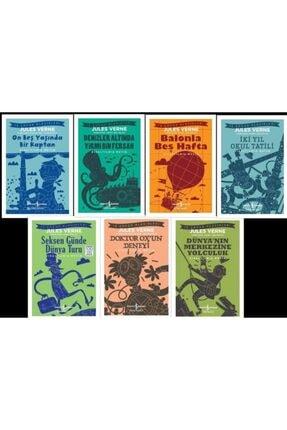İş Bankası Kültür Yayınları Junes Verne Iş Çocuk Klasikleri 7 Kitap Set