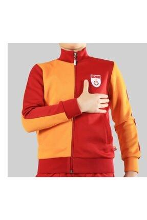 Galatasaray Unisex Çocuk Kırmızı Metin Oktay Forma Ceketi