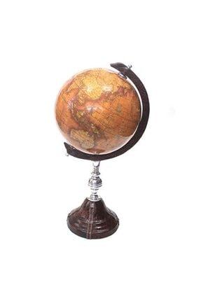 Keskin Hediyelik Deri Kaplamalı Eski Siyasi Haritalı Dönen Dünya Küresi 42cm 2546