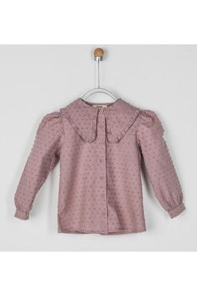 Panço Kız Çocuk Gömlek 2021GK06001