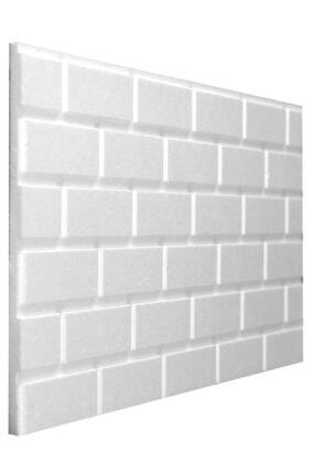 Stikwall Slim Tuğla Desenli Ham Strafor Duvar Kaplama Paneli 653