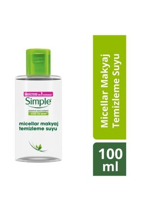 Simple Micellar Makyaj Temizleme Suyu 100 Ml