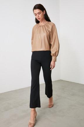 TRENDYOLMİLLA Siyah Basic Pantolon TWOAW21PL0727