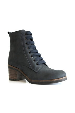 Beta Shoes Kadın Lacivert Bot 23-9340-47