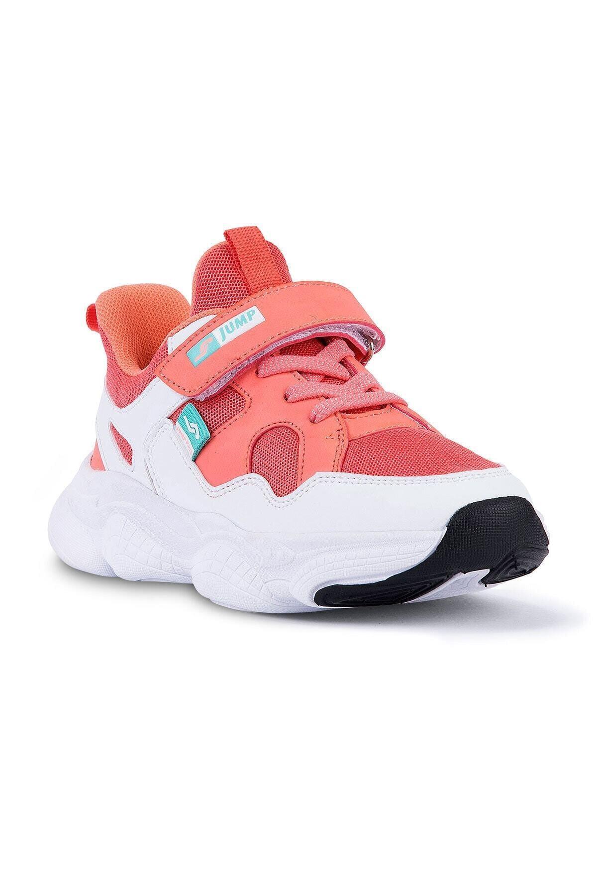Jump Kız Çocuk Pembe Spor Ayakkabı 24922 1