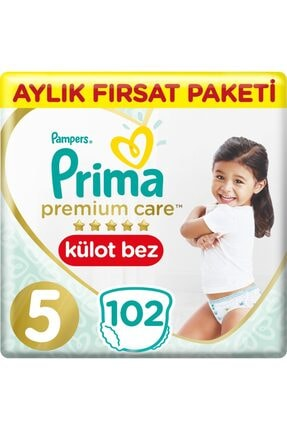 Prima Premium Care Külot Bez 5 Numara 34*3 102 Adet