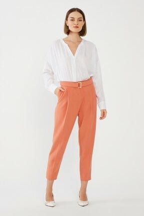 adL Kadın Şeftali Pileli Pantolon