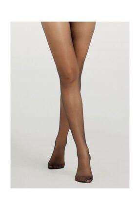SUWEN Kadın Siyah Invisible 8 Den Külotlu Çorap