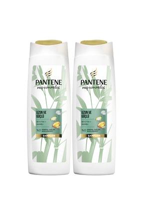 Pantene Uzun ve Güçlü Bambu ve Biyotinli Şampuan 400 ml x 2 Adet