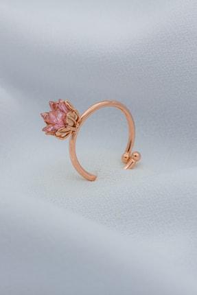 Else Silver Lotus Çiçeği Gümüş Yüzük