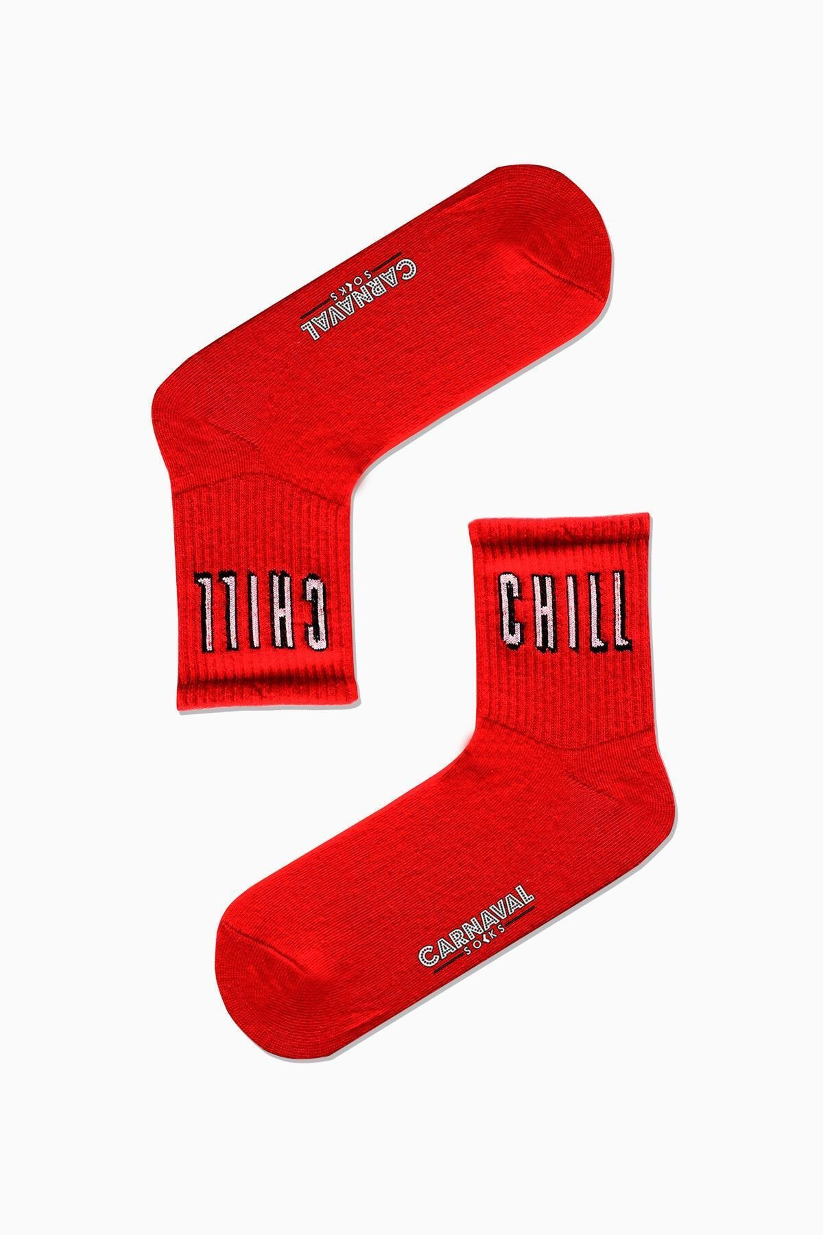 CARNAVAL SOCKS 7'li Nyc Yazılı Desenli Renkli Spor Çorap Set 2