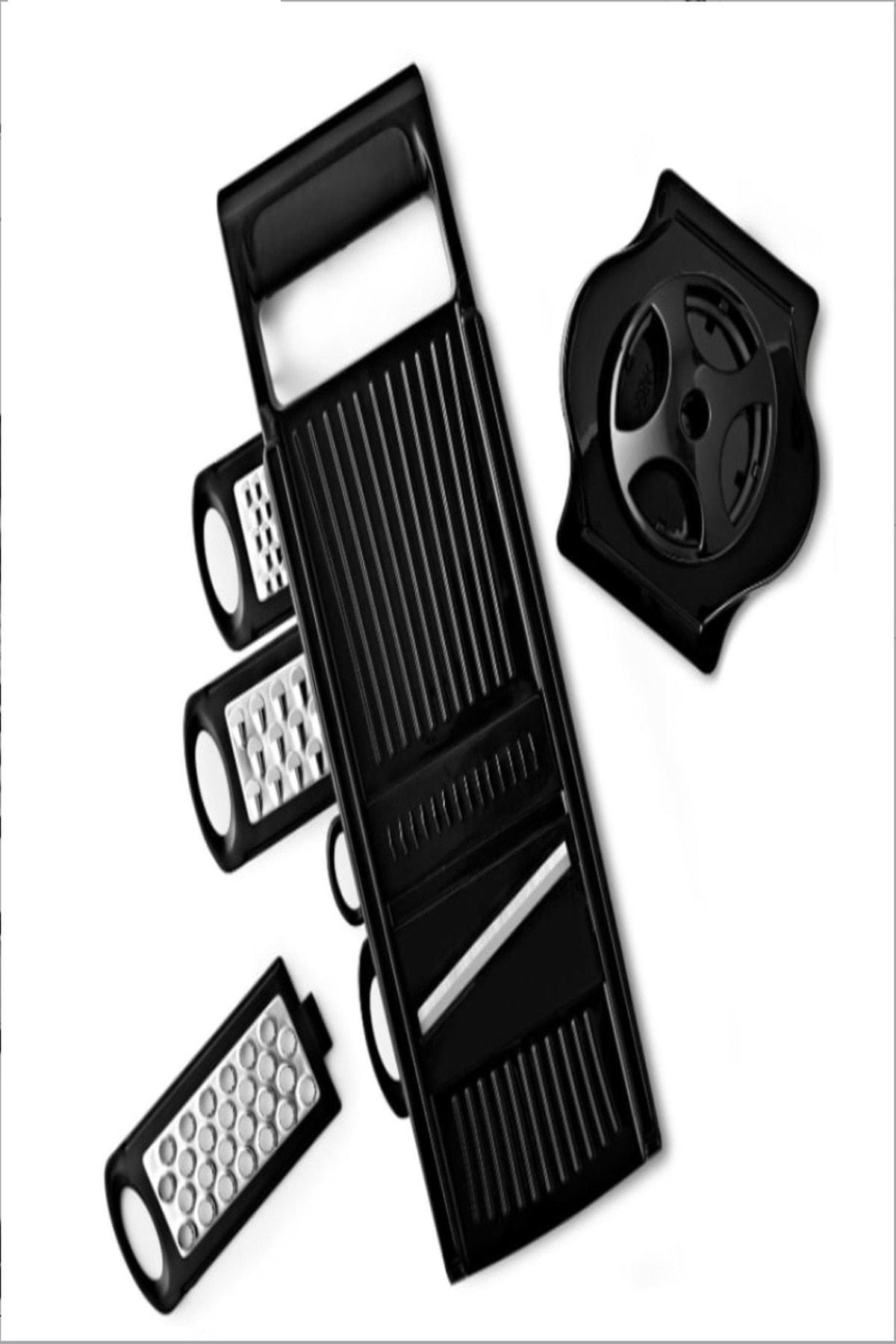 Yenimiyeni Çok Fonksiyonlu Dilimleyici Rende Çelik Malzemeli 2
