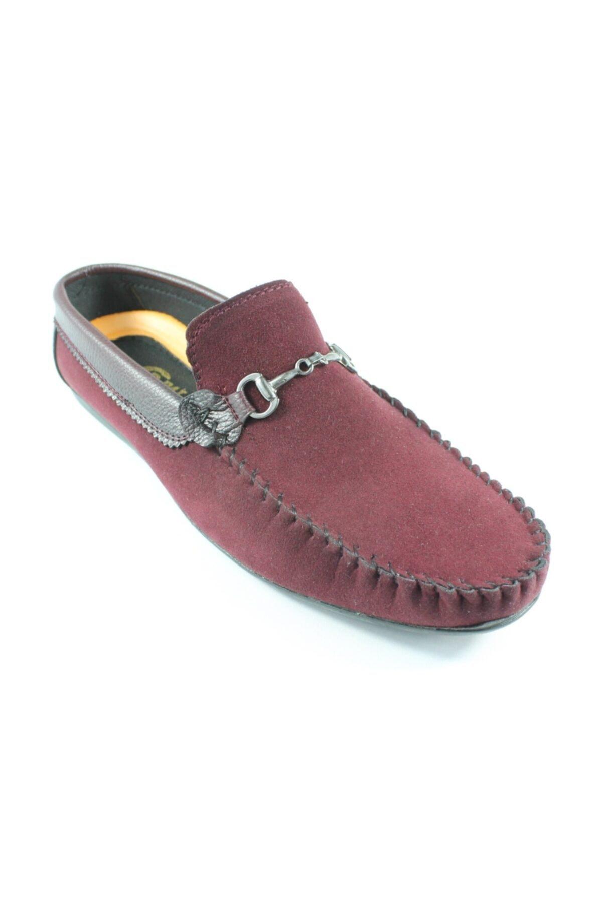 Palmera Erkek Bordo Süet Ayakkabı 1