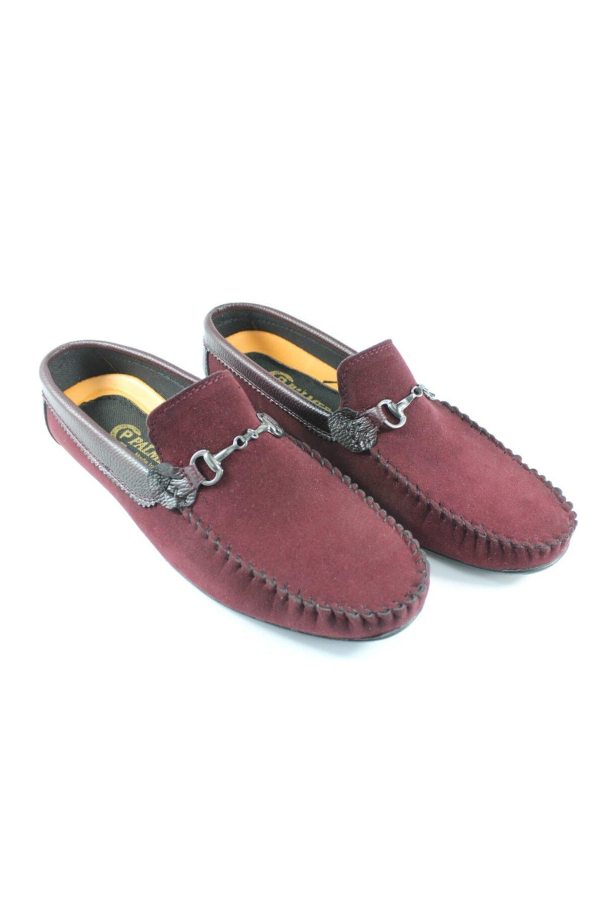 Palmera Erkek Bordo Süet Ayakkabı 2