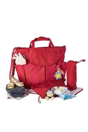 Okiedog Kırmızı Scribbles Sumo Anne Bebek Bakım Çantası 39021