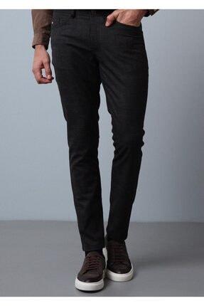 Ramsey Erkek Kahverengi Düz Dokuma Pantolon