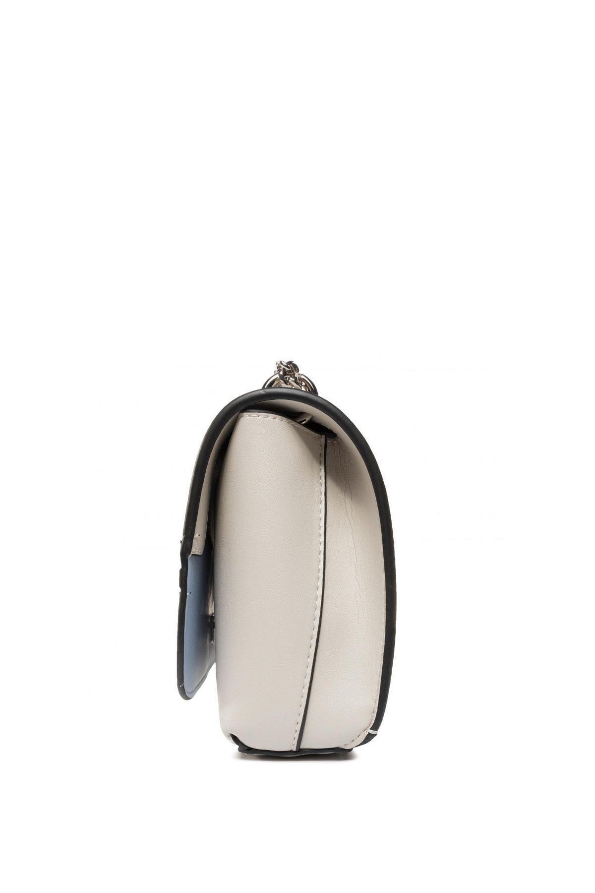 Calvin Klein Kadın Beyaz Ckj Sculpted Flap Ew Xbody Çapraz Askılı Çantası K60k606572 2