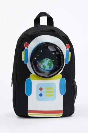 DeFacto Astronot Baskılı Okul Çantası