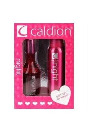 Caldion Night Edt 100ml Kadın Parfüm Seti 5O3423