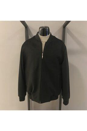 Pelikan Erkek Siyah Wool Cashmere Pilot Yaka Mont