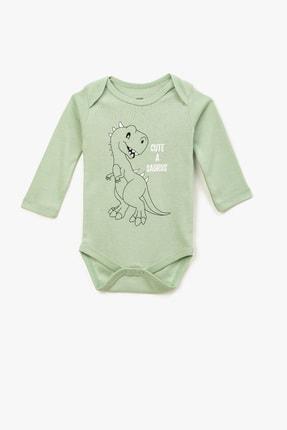 Koton Kids Yeşil Erkek Bebek Body