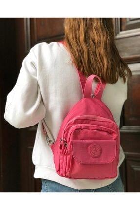KRISTE BELL Smart Bags Siyah Kadın Kumaş Sırt Çantası