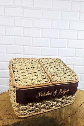 SepetçiBaba Çift Bölmeli Patates & Soğan Sepeti
