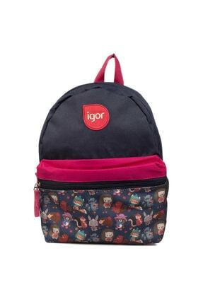 IGOR Lucky Çocuk Siyah Günlük Stil Çanta W80319-cute Anımals