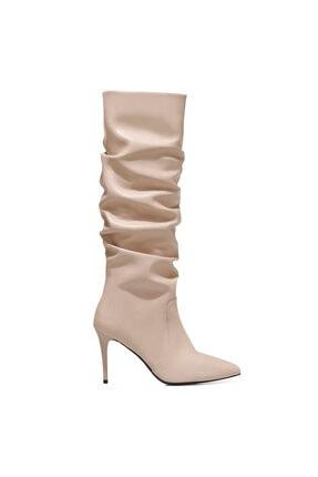 Nine West PINTO Pudra Kadın Ökçeli Çizme 100582069