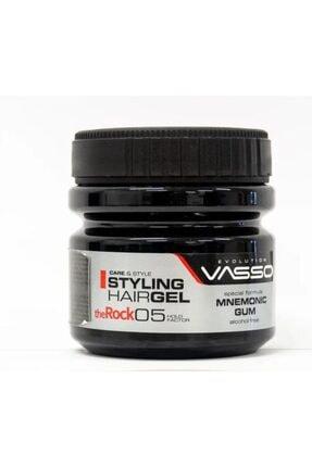 Vasso Men Vasso The Rock Ekstra Güçlü Tutuşlu Saç Jölesi 500ml 8699216347669
