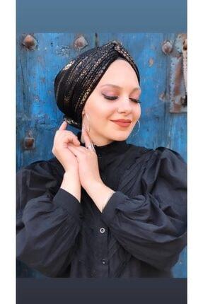 ozvizyon tekstil Kadın Siyah Modrn Bone