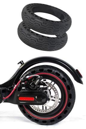 Citycoco Siyah Elektrikli Scooter Dolgu Dış Lastik