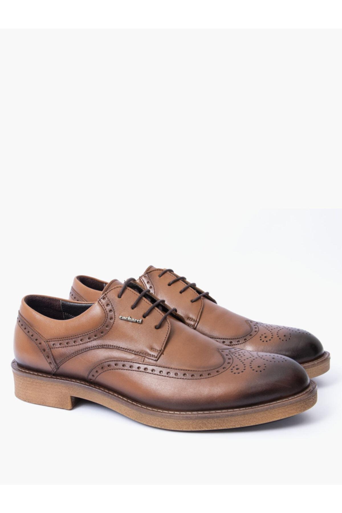 Cacharel Erkek Kahverengi Klasik Ayakkabı 2