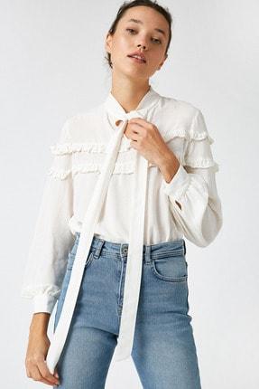 Koton Kadın Altın Çizgili Bluz 1KAK68764CW
