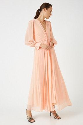 Koton Kadın Somon Elbise 0KAK84725FW