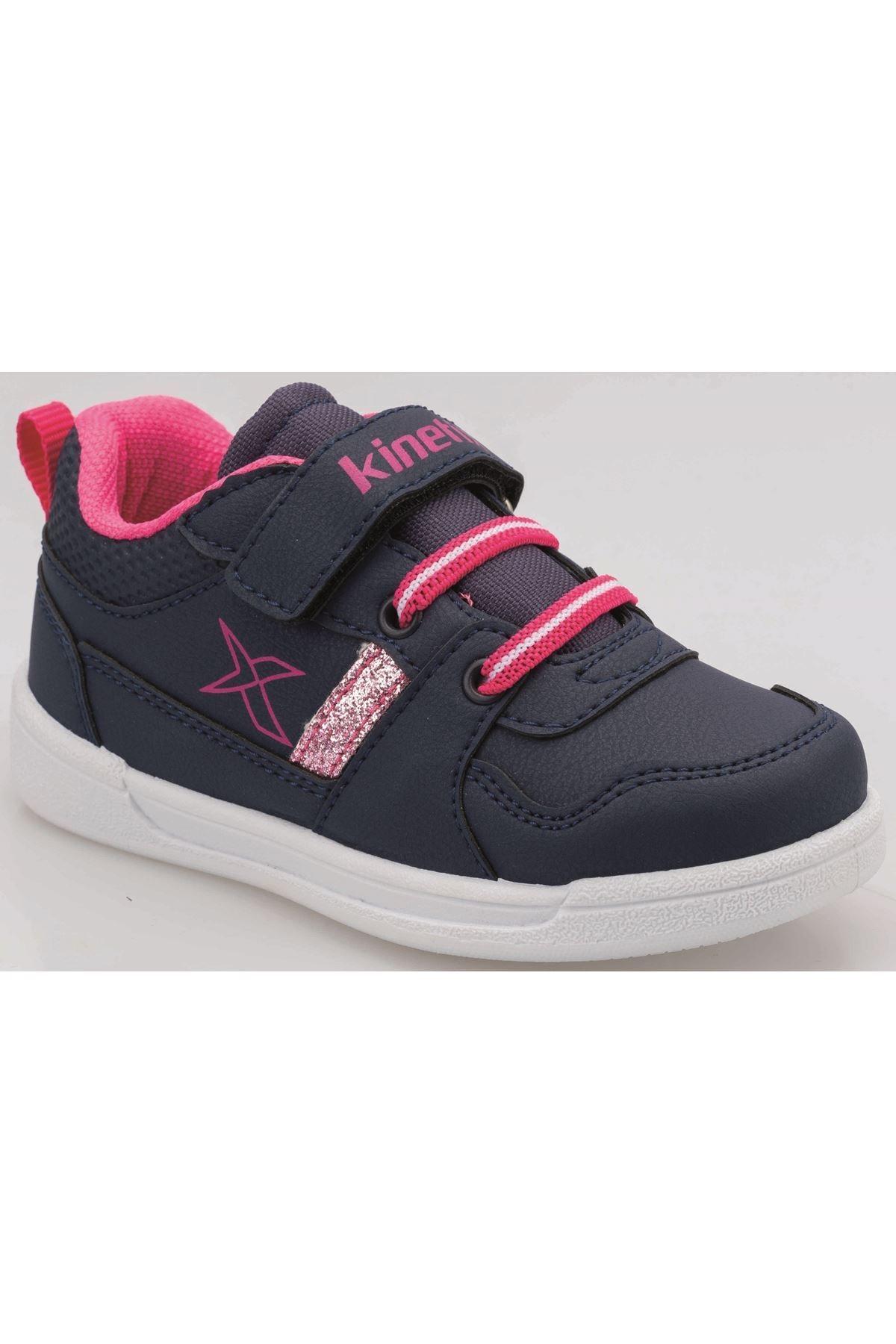 Kinetix Kız Çocuk Lacivert As00259810 100425520 Enkos 9pr Patik Spor Ayakkabı 1