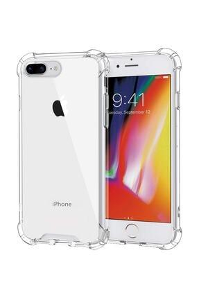 Sunix Iphone 7 Plus ve 8 Plus Şeffaf Köşe Korumalı Antishock Airbag Şeffaf Kapak