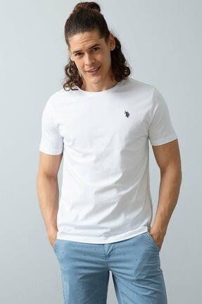 U.S. Polo Assn. Us Polo Assn. Erkek Bisiklet Yaka Basic Tshirt