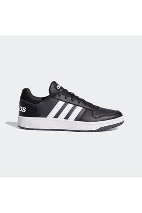 adidas Erkek Siyah Spor Ayakkabı B44699 Hoops 2.0