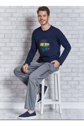ROLY POLY Rolypoly Fenerbahçe Lisanslı Yetişkin Pijama Takımı