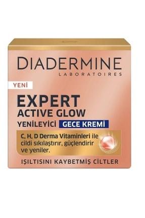 Diadermine Expert Actıve Glow Yenileyici gece Kremi