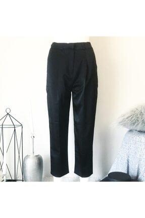 Quzu Kadın Boyfrend Saten Pantolon