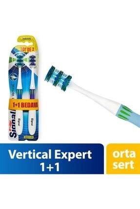 Signal Double Vertical Expert Diş Fırçası 1+1